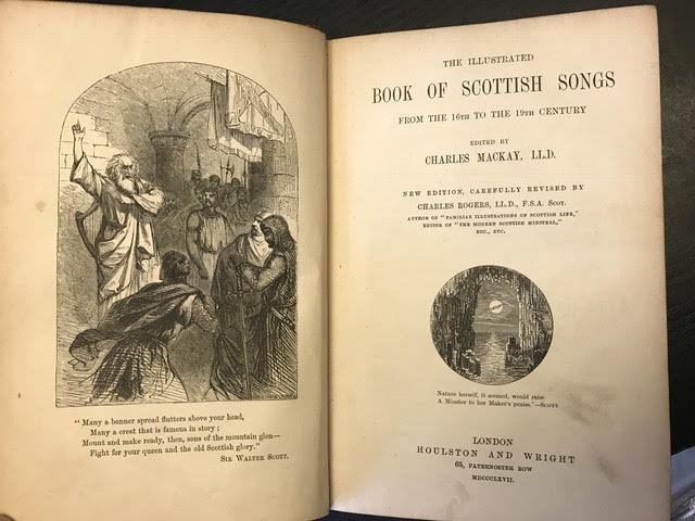 Image for The Illustrated Book of Scottish Songs from the 16th to the 19th Century