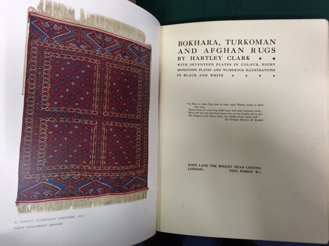 Image for Bokhara, Turkoman and Afghan Rugs