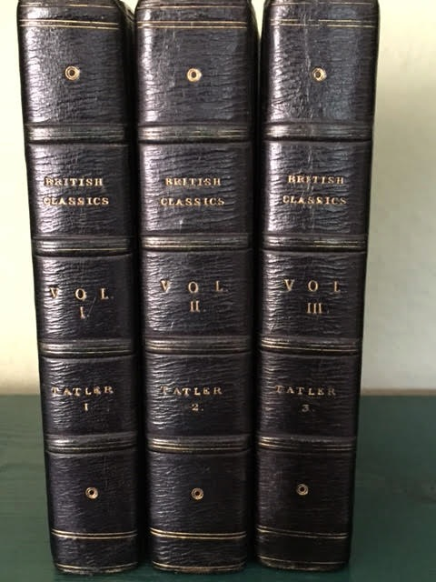 Image for The British Classics. In 24 volumes complete. The Tatler (4 vols), The Spectator (8 vols), The Guardian (2 vols), The Rambler (4 vols), The Adventurer (4 vols), The Idler (2 vols)