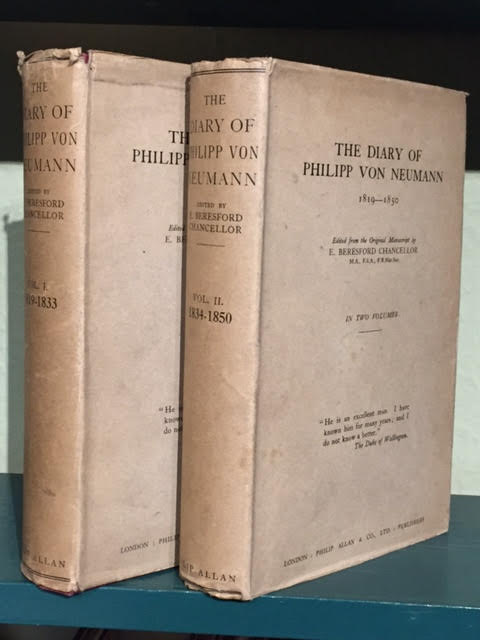 Image for The Diary of Philipp von Neumann 1819-1850. In two volumes