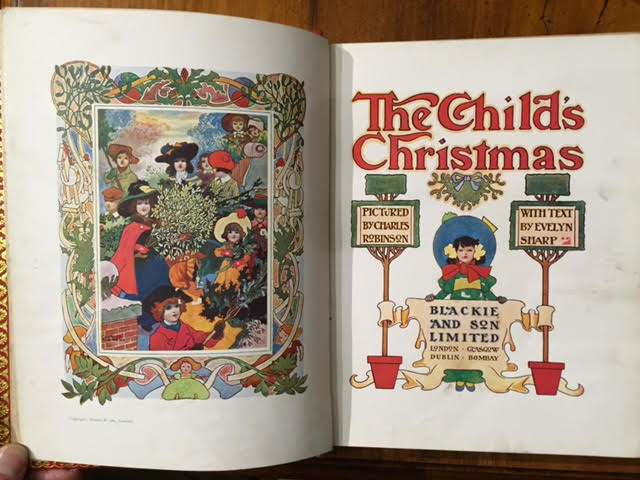 Image for The Child's Christmas pictured by Charles Robinson