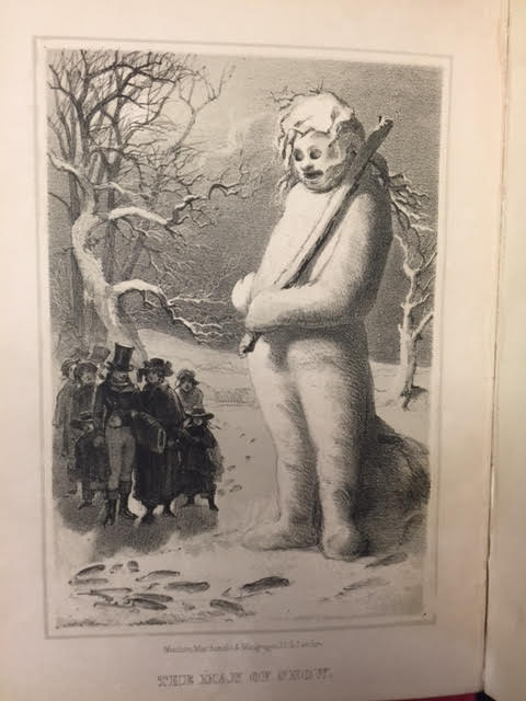 Image for The Man of Snow, and Other Tales. A Story Book for Winter.