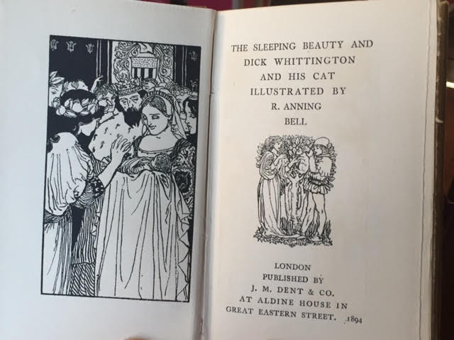 Image for The Sleeping Beauty and Dick Whittington and His Cat. The Banbury Cross Series