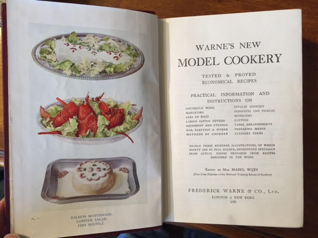 Image for Warne's New Model Cookery. Tested & Proved Economical Recipes. Practical Information and Instructions on Household Work, Marketing, Care of Food, Table Arrangements, Preparing Menus...