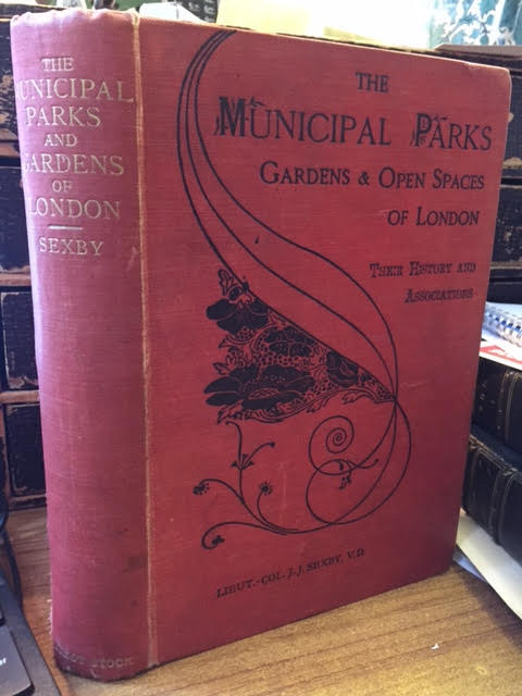 Image for Municipal Parks Gardens and Open Spaces of London