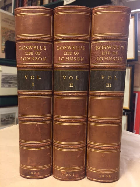 Image for Boswell's Life of Johnson - The Life of Samuel Johnson