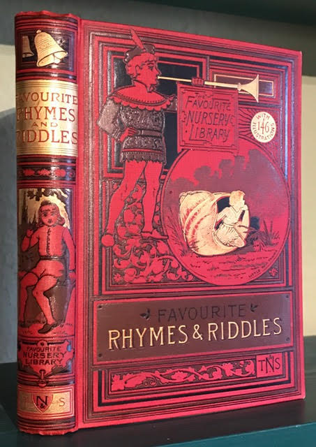 Image for Favourite Rhymes and Riddles : Favourite Rhymes for the Nursery [with] Riddles and Rhymes. The Favourite Nursery Library. Two Volumes in One