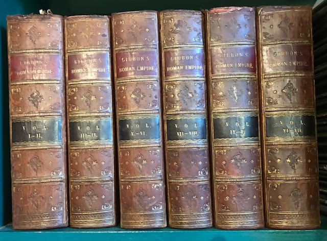 Image for The History of the Decline and Fall of the Roman Empire. Twelve volumes bound as six