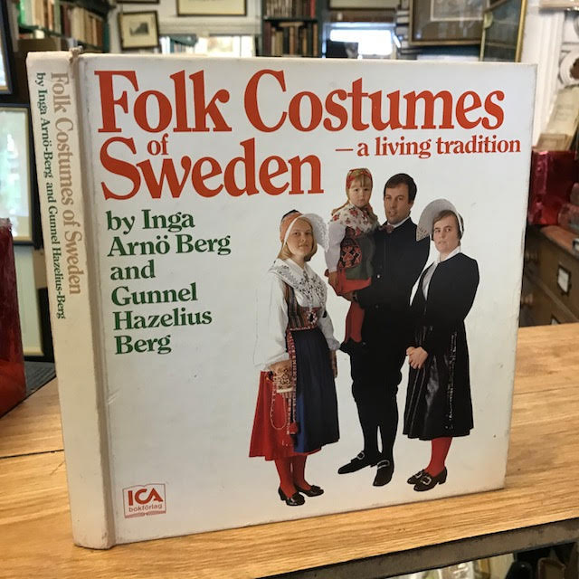 Image for Folk Costumes of Sweden : A Living Tradition