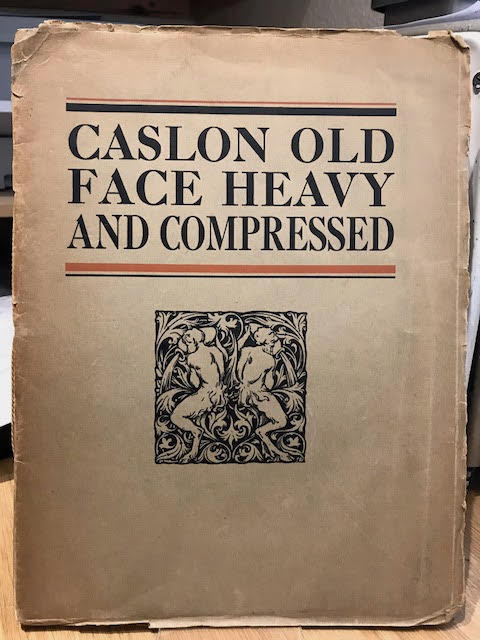 Image for Caslon Old Face Heavy and Old Face Heavy Compressed