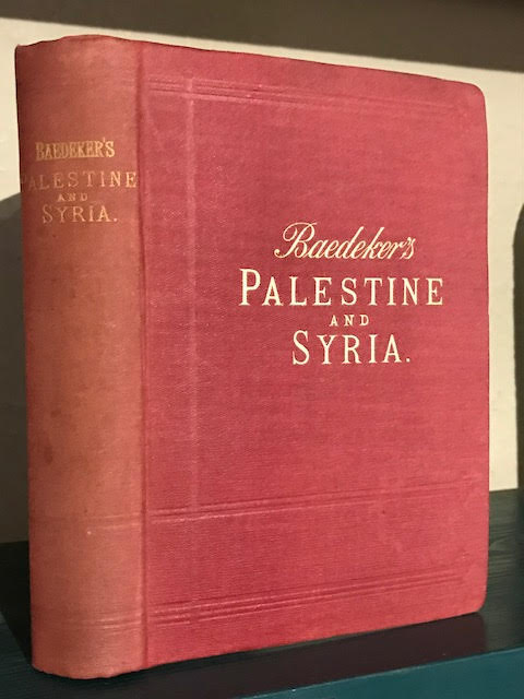 Image for Palestine and Syria : Handbook for Travellers
