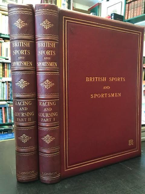 Image for British Sports and Sportsmen : Racing Coursing and Steeplechasing. In two volumes