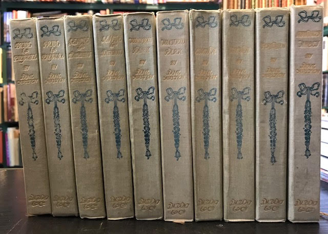 Image for The Novels of Jane Austen : In Ten Volumes
