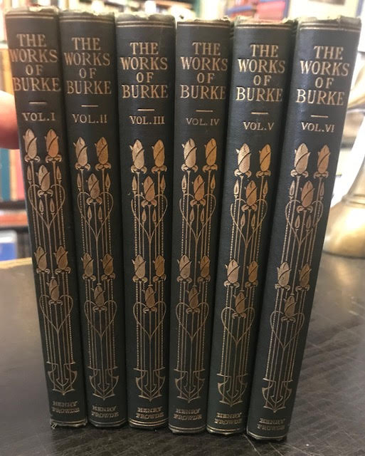 Image for The Works of the Right Honourable Edmund Burke. In six volumes