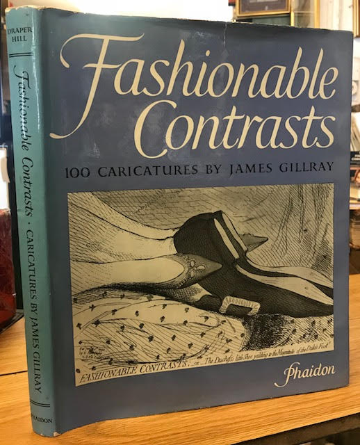 Image for Fashionable Contrasts: Caricatures by James Gillray