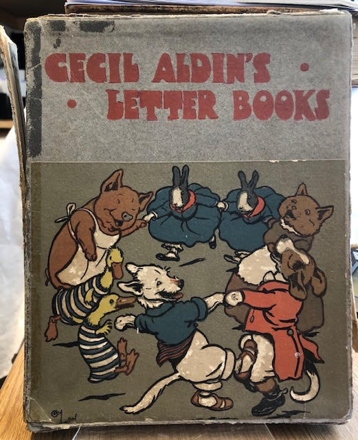 Image for Cecil Aldin's Letter Books : White Rabbit. Cock-o-Lorum. Puss Puss. Black Billy. Pale Peter. Ugly Duckling. Six books in box
